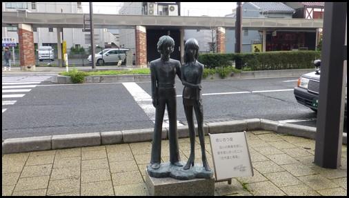 松本零士 ブロンズ像