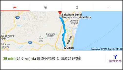 Saitibaru Bural Mound Map
